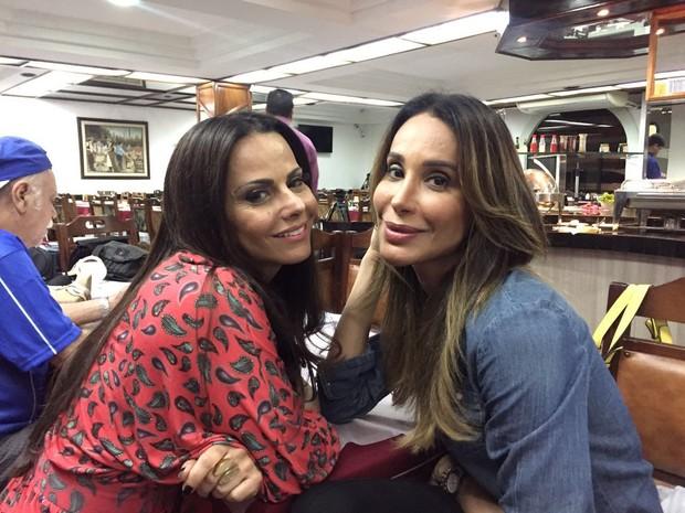 Viviane Araújo e Carol Marra (Foto: Reprodução/Instagram)