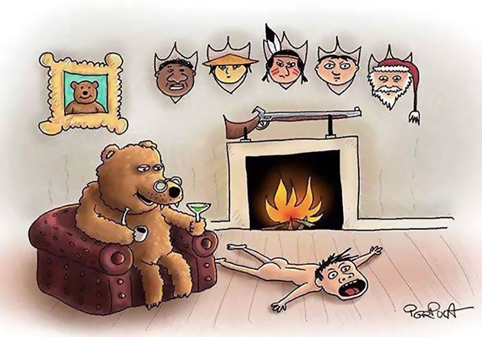 Ilustração feita por artista desconhecido (Foto: Reprodução)