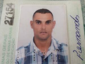 Mateus Fernandes está desaparecido desde o rompimento das barragens da Samarco  (Foto: Raquel Freitas/G1)
