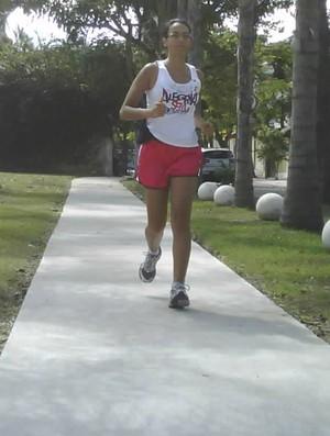 livia 2 minha história eu atleta (Foto: Arquivo Pessoal)