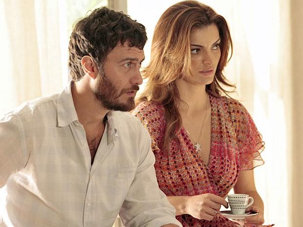 Rodrigo acredita que Juca pode ser a chave para saber quem o sequestrou (Foto: Amor Eterno Amor/TV Globo)