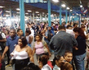 Transporte público (Foto: O Globo)