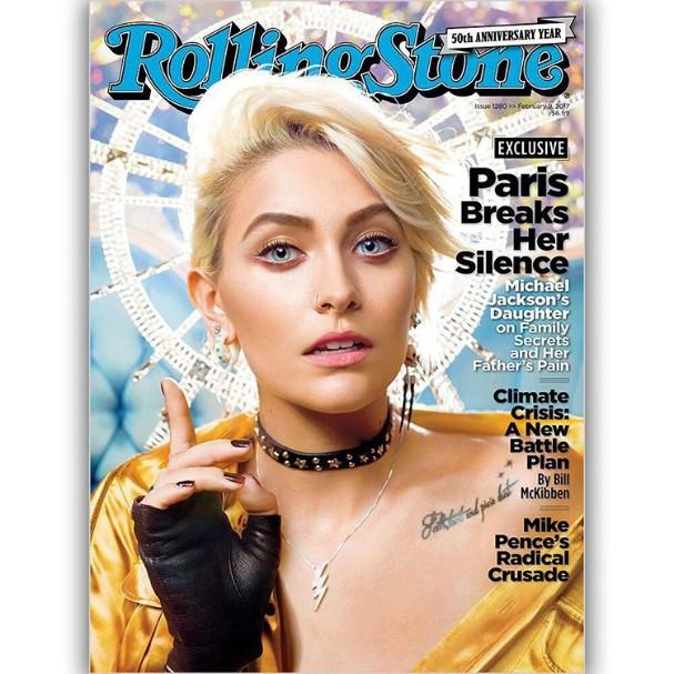 Paris Jackson rainha na capa da Rolling Stone (Foto: Reprodução/Instagram)
