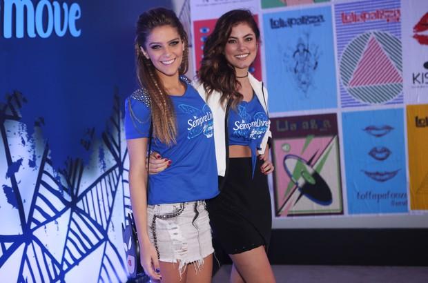 Isabella Santoni e Bruna Hamú (Foto: Iwi Onodera / EGO)