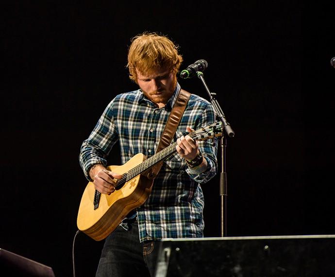 Ed Sheeran foi uma das principais atrações do Rock in Rio Las Vegas (Foto: Divulgação)