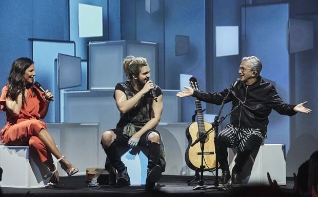 Ivete Sangalo, Luan Santana e Caetano Veloso emocionaram a plateia em noite de muita MPB no Canta, Luan (Foto: Juliana Coutinho/Multishow)