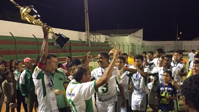 Palmeira campeão sub-19 (Foto: Carlos Richard)