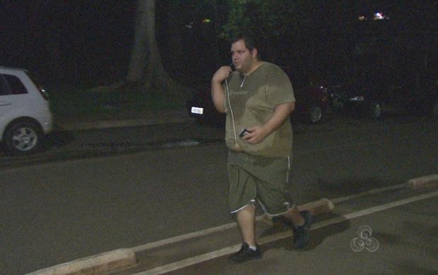 Participante do 'Acre TV em Forma' já pedeu 13 quilos e quer peder mais  (Foto: Reprodução TV Acre)