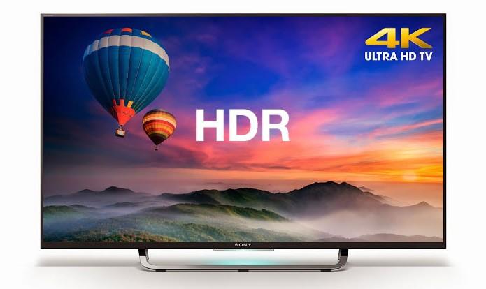 Algumas TVs no Brasil já vêm com HDR, como as da Sony com resolução 4K (Foto: Divulgação/Sony)
