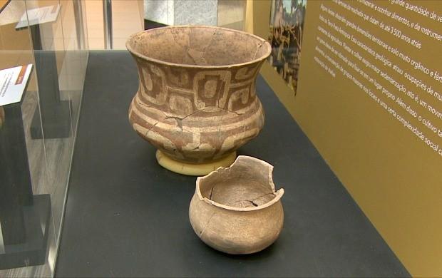 Exposição 'Arqueologia no Alto do Rio Madeira' é realizada em Porto Velho (Foto: Bom Dia Amazônia)