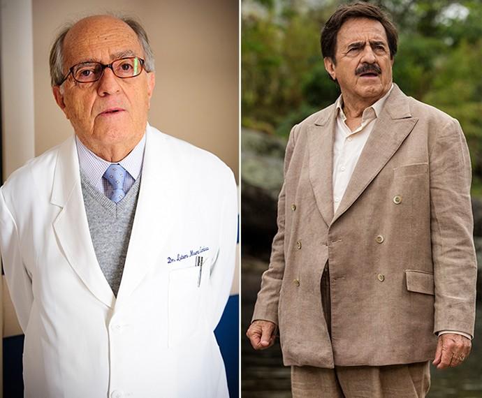 Ary foi Dr. Lutero em 'Amor à Vida' e Quinzinho em 'Êta' (Foto: Inácio Moraes/Gshow)