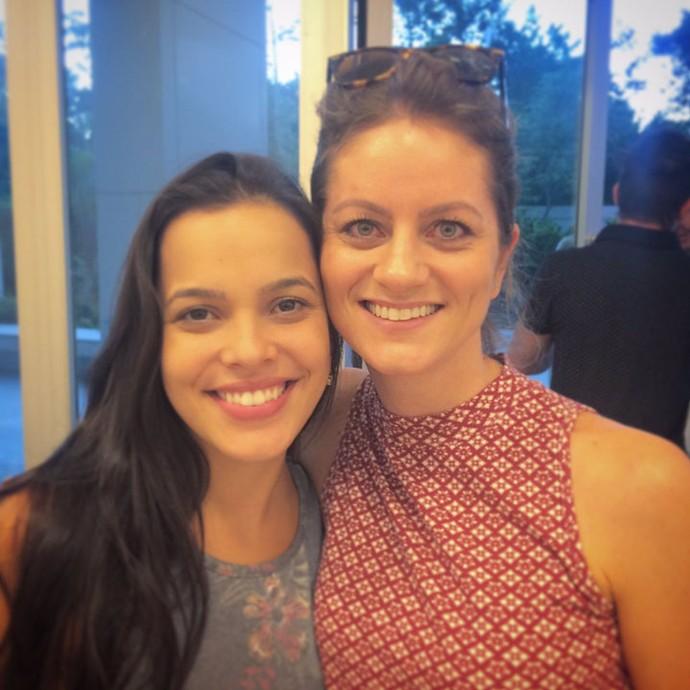 Caroline já conheceu Mayla e quer conhecer Emilly (Foto: Arquivo pessoal)