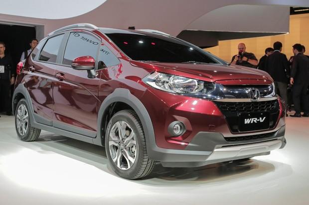 Honda WR-V no Salão do Automóvel 2016 (Foto: Autoesporte)