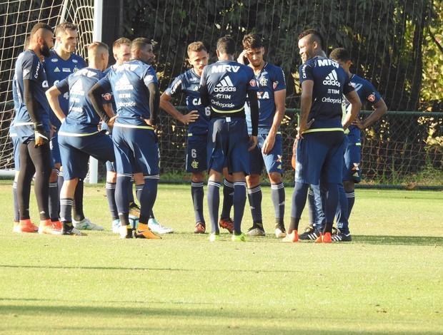 Flamengo treino ninho do Urubu