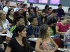 Candidatos se preparam para o concurso da PM, em Goiás