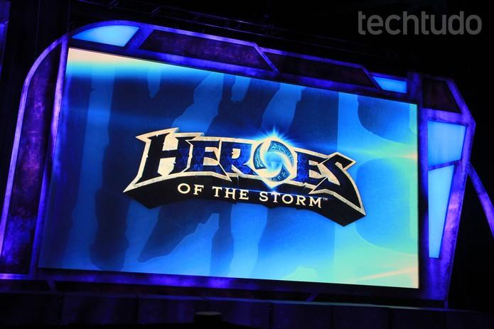 Heroes Of The Storm na Blizzcom 2014 (Foto: Anna Kellen Bull/TechTudo)