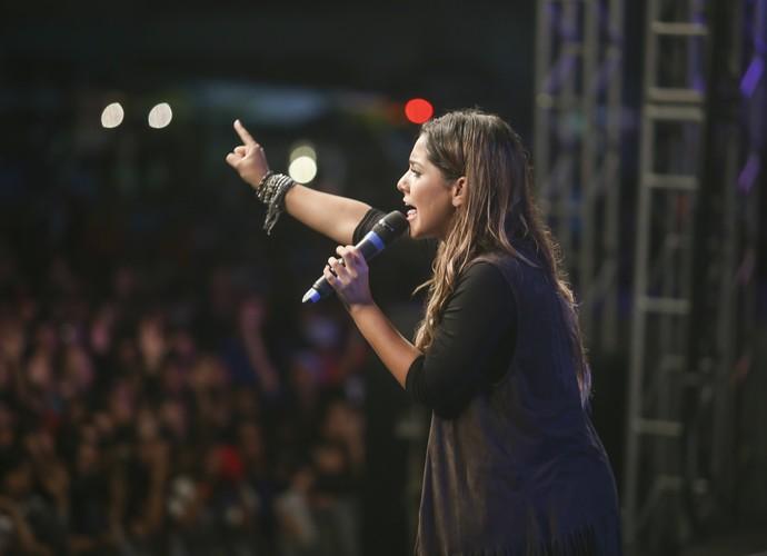 Gabriela Rocha Festival Promessas (Foto: Luiz Renato Correa/RPC)
