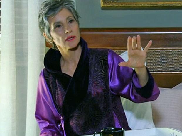 Robe foi feito a pedido de Cassia Kis (Foto: Amor Eterno Amor/TV Globo)