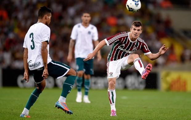 wagner Fluminense e Jackson Goiás brasileirão (Foto: Agência Getty Images)
