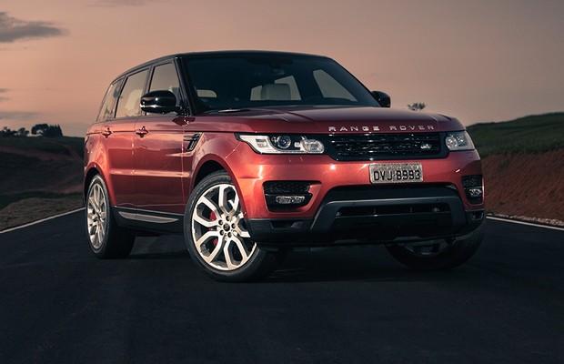 Land Rover Range Rover Sport (Foto: Fabio Aro/Autoesporte)