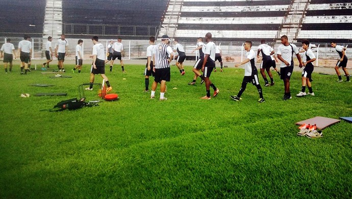 Inter de Limeira treino (Foto: Divulgação / Inter de Limeira)