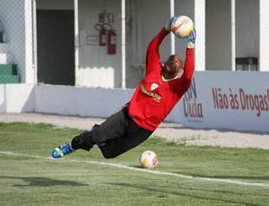 Danilo, goleiro do Alecrim (Foto: Canindé Pereira/Divulgação)