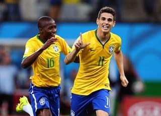 Oscar gol Brasil contra Croácia (Foto: Jefferson Bernardes / VIPCOMM)