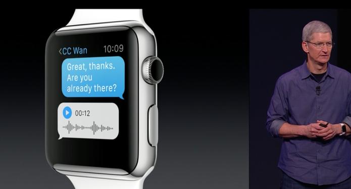 Apple Watch e tem recursos fitness (Foto: Reprodução/Apple)