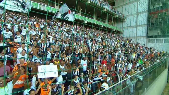 Torcida do Atlético-MG no Independência (Foto: Reprodução / TV Globo Minas)