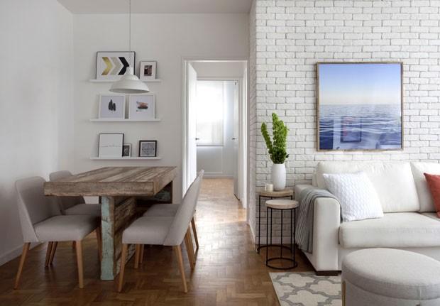 Décor a jato renova apartamento para locação em SP (Foto: Marco Antonio/ Divulgação)