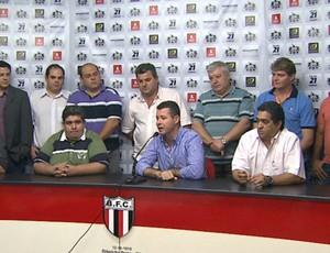 Botafoguenses anunciam parceria com Olé Brasil (Foto: Reprodução EPTV)