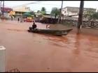 Moradores contabilizam prejuízos após forte chuva em Araguaína