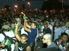 Em PE, protesto pela desocupação da Ilha do Fogo termina em confusão