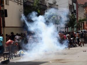 Ação da Polícia Civil termina em prisões e tumulto na Cracolândia. (Foto: JF Diorio/Estadão Conteúdo)