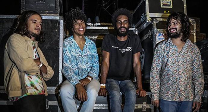 Prestes a lançar seu segundo disco, o Boogarins é grande aposta do rock  (Foto: Divulgação)
