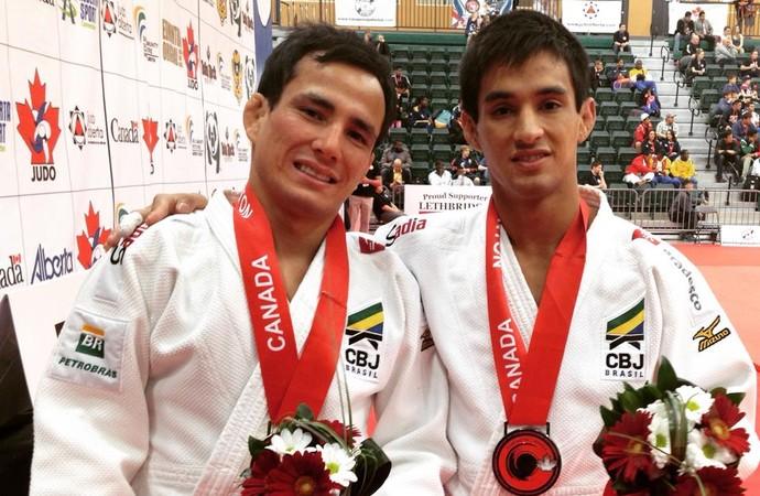 """""""Máquina de ippons"""", Felipe Kitadai (60kg) derrotou o compatriota Eric Takabatake  na final (Foto: Reprodução/Twitter)"""