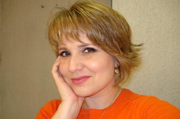 Vanessa Faro, apresentadora do Tribuna Esporte, com seu novo corte de cabelo. (Foto: Arquivo Pessoal)