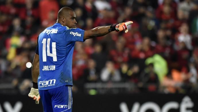 Jailson Flamengo x Palmeiras (Foto: André Durão/GloboEsporte.com)