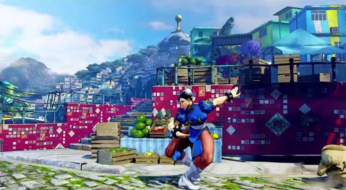 Street Fighter 5 terá cenário no Brasil, com elementos do Rio de Janeiro (Foto: Divulgação)