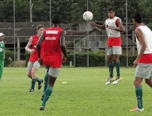 Metropolitano segue os treinos fortes antes do Estadual (Foto: Giovani Vitória, divulgação/ Metropolitano)
