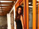 Uruguaia Maria Ramos fala sobre carreira e affair com Sheik: 'Bem feliz'