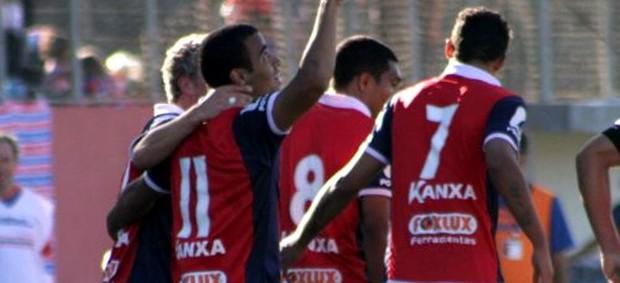 Paraná vence o Cianorte, pelo Campeonato Paranaense (Foto: Site oficial do Paraná Clube/Divulgação)