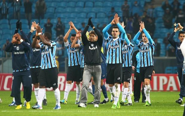 grêmio santos copa do brasil arena renato (Foto: Lucas Uebel/Grêmio FBPA)