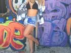 Andressa Suita mostra boa forma em rede social