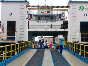 Confira o esquema especial do ferry boat para o feriado de São João (Foto: Imagem/TV Bahia)