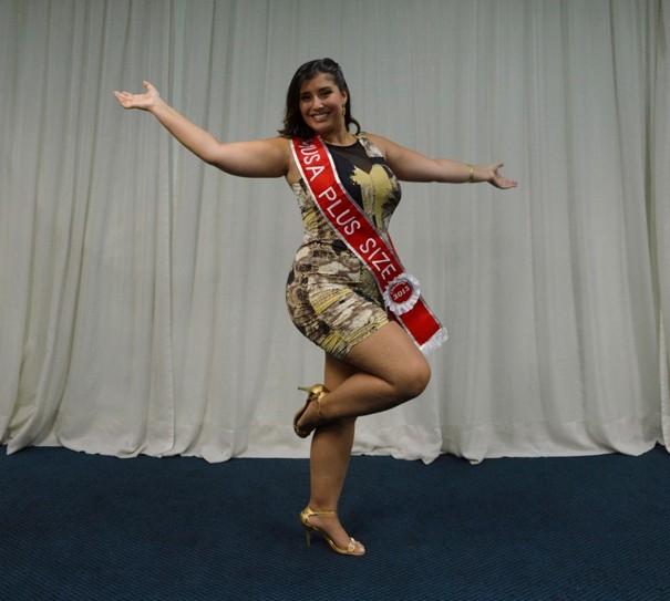 Nova Musa Plus Size do Carnaval de SP (Foto: Giovanne Casareggio/Divulgação)
