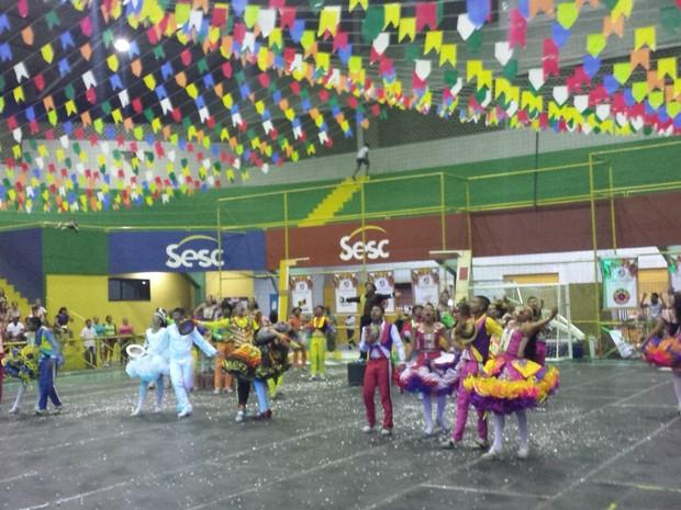 Festival Regional de Quadrilhas no Sesc em Petrolina (Foto: Jadir Souza / TV Grande Rio)