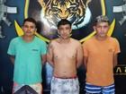 Três foragidos são recapturados após operação da polícia em Boa Vista