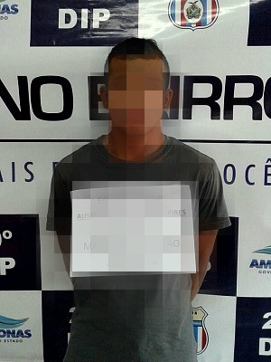 Suspeito foi detido na tarde desta sexta-feira (26) (Foto: Divulgação/Polícia Civil)