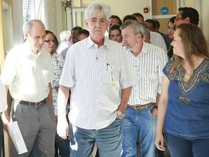Visita hospital municipal leitos recuperados Udi (Foto: Prefeitura Uberlândia/Divulgação)